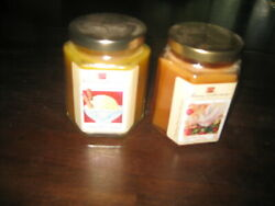 Two Vintage Home Interior Candles Vanilla Creme Breast Cancer edition