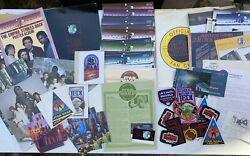 Vintage Official Star Wars Fan Club Huge Lot Bantha Tracks Stickers Patches...