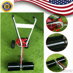 Sweeper Machine 2-strock 43cc Portable Gas Power Broom For Artificial Turf