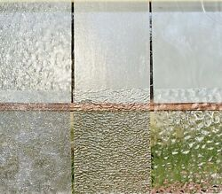 Stained Glass Variety Pack - Clear Textured- 6 Sheets 4 X 8