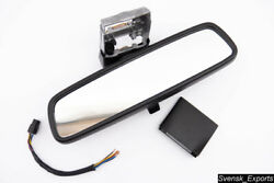 Mercedes W140 1992 Serviced Black Power Adjust Manual Dimming Rear View Mirror
