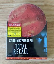 Total Recall Special Limited Edition Dvd, 2001 [tin Case Rare] [brand New]