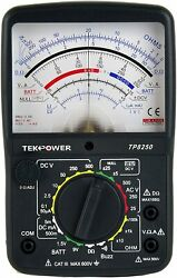 Tekpower Tp8250 Analog Multimeter With Null Middle Position 0