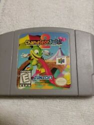Chameleon Twist 2 Nintendo 64 N64 Authentic Cartridge Only Cleaned amp; Tested