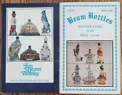 2 Books Cembura And Avery Jim Beam Bottles, 1967 And 1969 Identification/price Guide