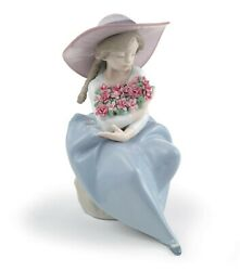 Lladro Fragrant Bouquet Carnations 01007215 Made In Spain
