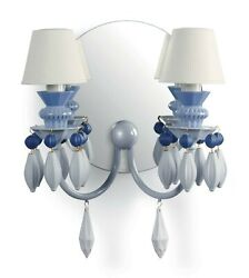 Lladro Bdn -wall 2l. -blue Ce/uk/us 01023257/01023258 Made In Spain