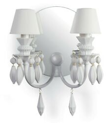 Lladro Bdn -wall 2l. -white Jp 01023199 Made In Spain