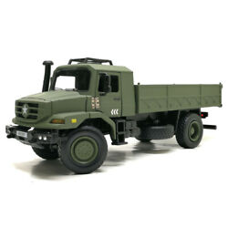 Alloy Military Transport Truck Model Off-road Toy Car Model Collection Ornaments