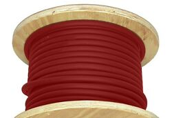 300' 3/0 Awg Welding Cable Red Flexible Outdoor Wire Durable New