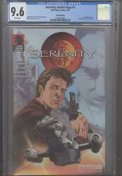 Serenity 1 Dh-100 Cgc 9.6 Special Edition 1/1000 Joss Whedon Story White Pages