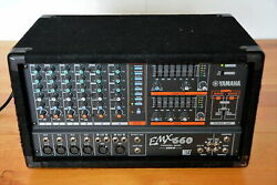 Yamaha Emx660 6-channel Powered Pa Mixer With Dfx