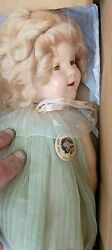 1930's 4 Authentic Shirley Temple 18 Doll Original Genuine With Pin Ideal
