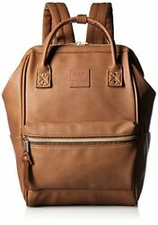 Anello Japan Camel Small Size Rucksack Laptop Backpack Synthetic Leather 180095 $107.65