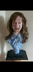 Exorcist Regan 11 Silicone Life Size Bust Movie Prop