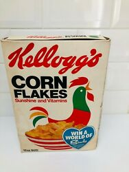 Rare 1970s Kelloggs Corn Flakes Cereal Box With World Of Sindy Doll Competition