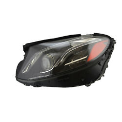 Mb2518111 New Replacement Driver Side Led Headlamp Lens And Housing