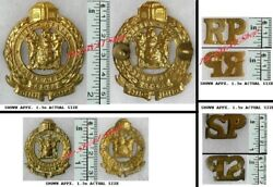 South Africa Railway And Harbor Police Cap Badge Group Pre 1994 Obsolete