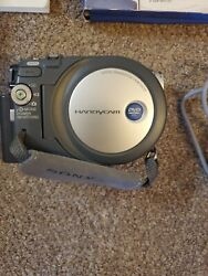 Sony Dcr-dvd201 Camcorder Great Working Condition