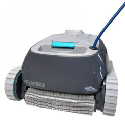 Robotic Pool [vacuum] Cleaner - Ideal For Above/in Ground Swimming Pools Up To 3