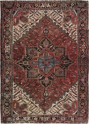 Vintage Handwoven Lightly Distressed Oriental Rug 8and0399 X 11and0397 E24303