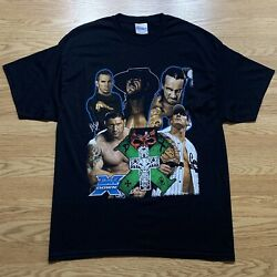 2009 Wwe Hell In A Cell Ppv T Shirt Mens Size Xl Undertaker Cm Punk Wwf Ecw Wcw