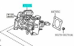 Toyota Genuine 47050-47200 Brake Booster Assy And Master Cylinder Prius 2012-2013