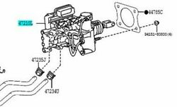 Toyota Genuine 47050-28020 Brake Booster Assy And Master Cylinder Voxy Esquire