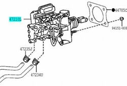 Toyota Genuine 47050-28010 Brake Booster Assy And Master Cylinder Voxy Esquire