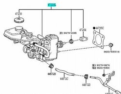Toyota Genuine 47050-10420 Brake Booster Assy And Master Cylinder C-hr Zyx11