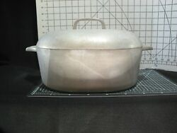 Wagner Ware Magnalite Roaster - Vintage Aluminum Cooking Pot With Lid