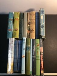 Lot Of 17 Antique Books For Young Readers