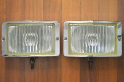 Vintage Bosch Large 8and039and039 Fog Lights Mercedes Bmw Vw Euro Classics