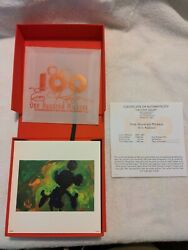 Disney One Hundred Mickeys Boxed Lithograph Set Eric Robison Le Printers Proof