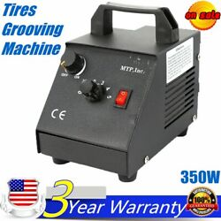 Manual Tire Groover Car Tires Grooving Machine 350w 1set Tire Regroover W/cutter