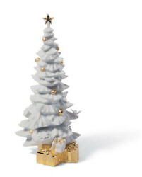Lladro O Christmas Tree Re-deco 01007089 Made In Spain
