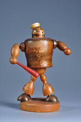 Ancienne Figurine Popeye King Features Syndicate 1940 Antique Old Toy American