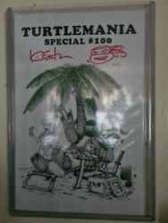 Teenage Mutant Ninja Turtles 100 Signed Remarked And Numbered Limited To 100