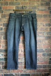 Men's Dark Blue Jeans Size 40 Waist 32 Leg By Camel Active Woodstock Used Con