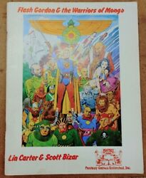Flash Gordon And The Warriors Of Mongo 1977 Rpg Fantasy Games Unlimited, Inc.
