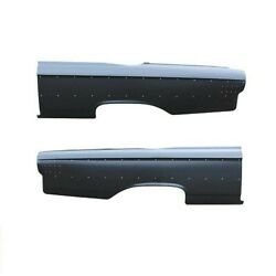 Rear Driver And Passenger Side Set Of 2 Quarter Panel Amd Fits Ford Galaxie 500