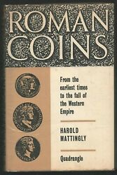 Roman Coins Earliest Times To Fall Of Western Empire By Harold Mattingly