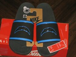 Nike Offcourt Slide Los Angeles Chargers Sandals Mens Size 14 Dd0516 001