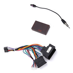 Car Power Cable Audio Wiring Harness Adapter With Canbus Box For F30/f10/x5/e46