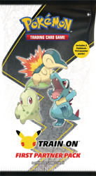 Pokemon First Partner Pack 3 Jumbo Johto Cards +2 Booster 25th Preorder