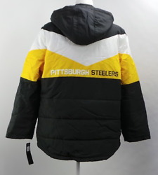 Pittsburgh Steelers - Nfl Women's Slap Shot Polyester Jacket By G-lll
