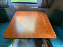 Genuine/oem/factory Scamp Camper Side Or Front Dinette Table 28.5x26 Cherry