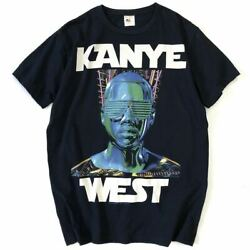 2008s Kanye West Glow In The Dark Tour T-shirt Size Official/kanye Yeezy Easy