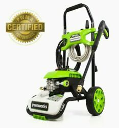 Greenworks 1800-psi 1.1-gpm Cold Water Electric Pressure Washer Gpw1803 New