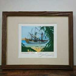 Mtg Inspection/explore Framed Autographed Re-paint Brian Snoddy Print For Those